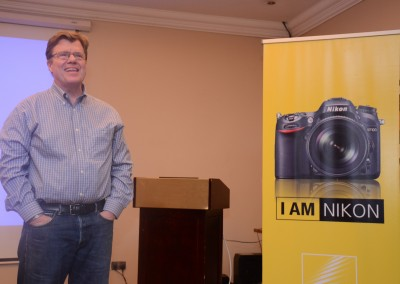 Joe McNally shares why he's loyal to Nikon