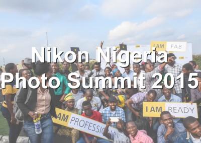 Nikon Nigeria Photo Summit 2015