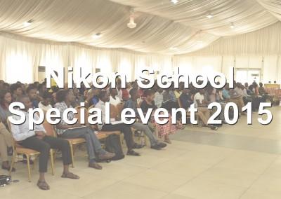Nikon School Special Event 2015