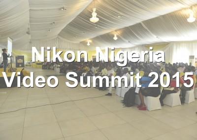 Nikon Nigeria / Video Summit 2015